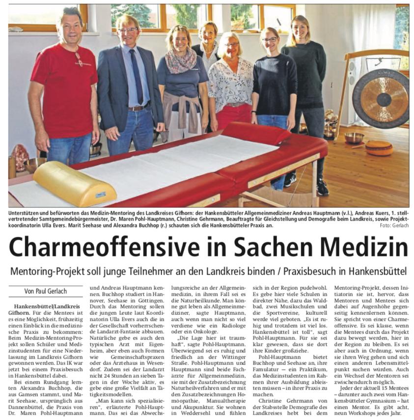 Isenhagener Kreisblatt 5.10. 2018